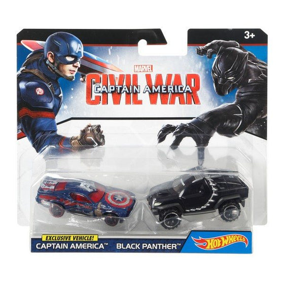 Captain America Civil War Character Car 2pk - Asst - Little Whale