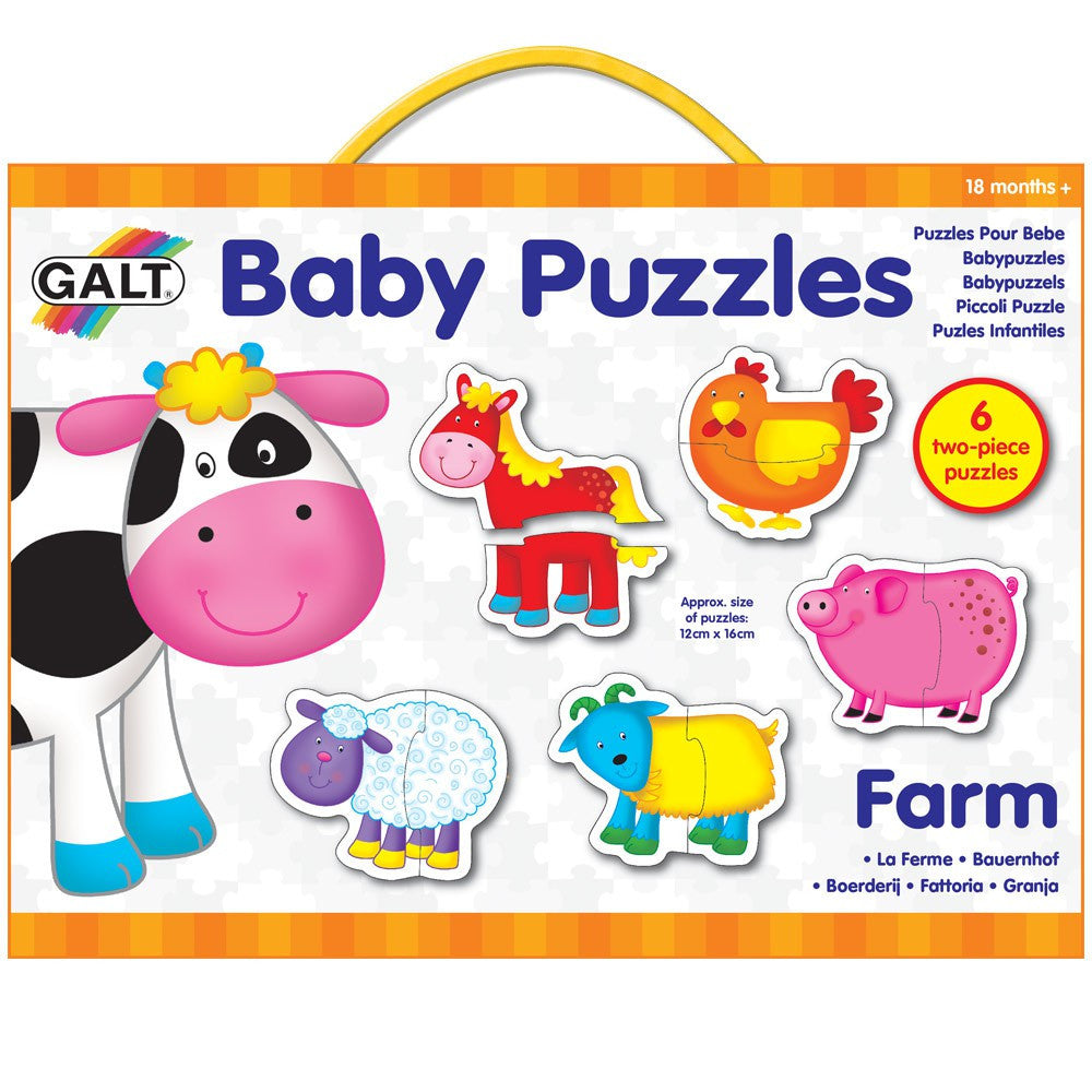 Baby Puzzles - Farm (18m+) - Little Whale