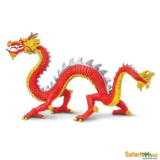 Horned Chinese Dragon - Little Whale