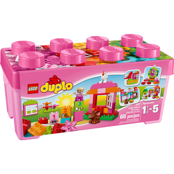 Duplo All in One Pink - Little Whale