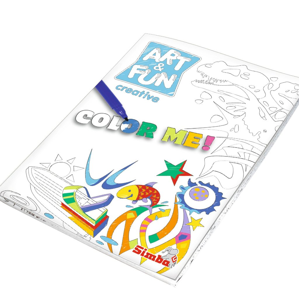 Color Me Paint Set Boy - Little Whale