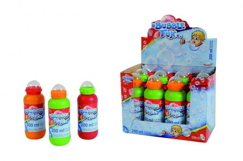 Bubble Fun 200ml (Assorted) - Little Whale