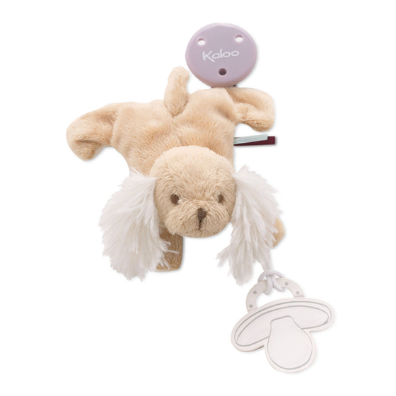 Doudou Pacifier Holder Puppy - Little Whale