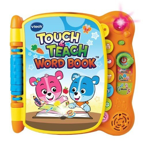 Touch & Teach Word Book (18m+) - Little Whale