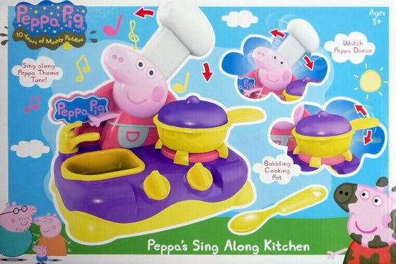Sing Along Kitchen Playset Toy - Little Whale