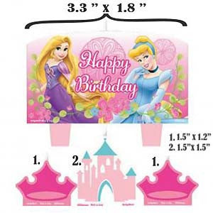 Disney Princess Birthday Candle - Little Whale