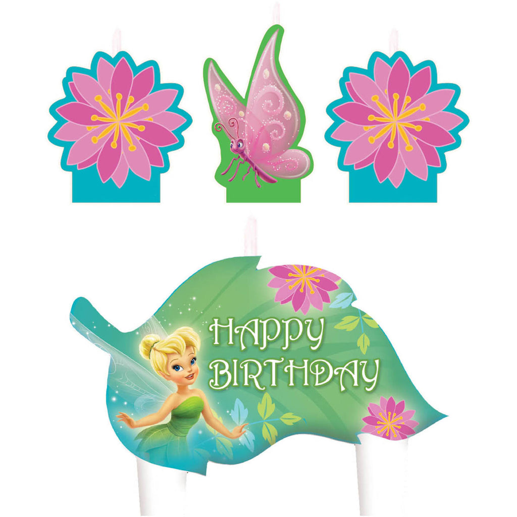 Tinker bell birthday candles - Little Whale