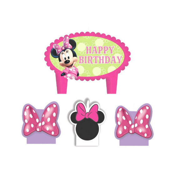Minnie Mouse Birthday Candle - Little Whale