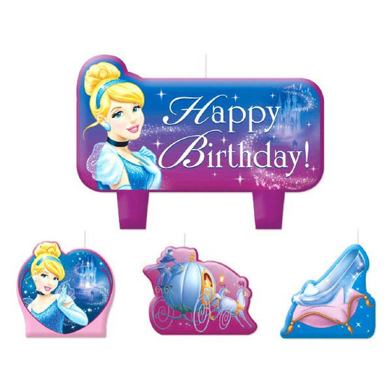 Cinderella Birthday Candles - Little Whale