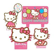Hello Kitty Candles 4ct - Little Whale