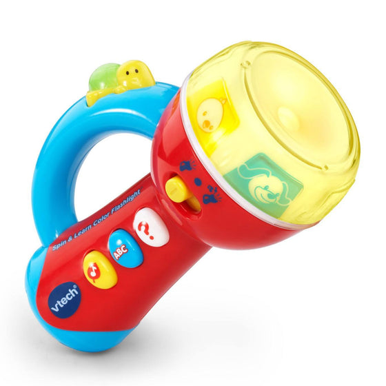 Spin & Learn Color Flash light (12m+) - Little Whale