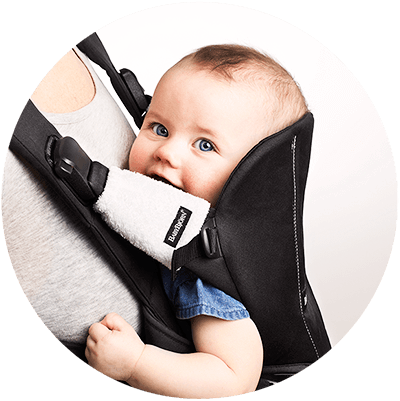 Teething Pads for Baby Carrier - Little Whale