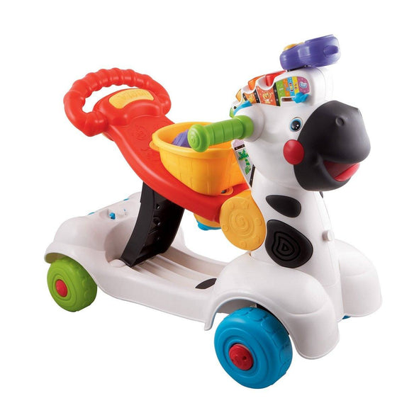 3-in-1 Zebra Scooter (18m+) - Little Whale