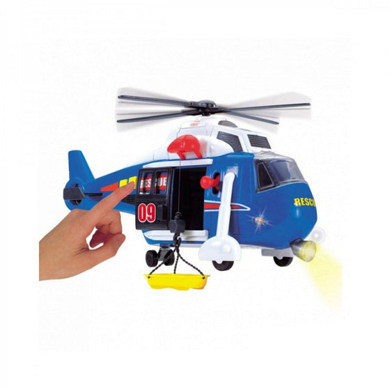 Helicopter (Light & Sound) 41cm - Little Whale