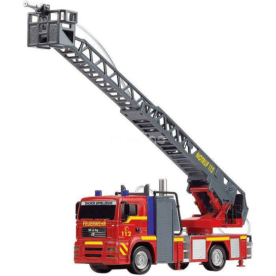 City Fire Engine (Light, Sound & Water) 31cm - Little Whale