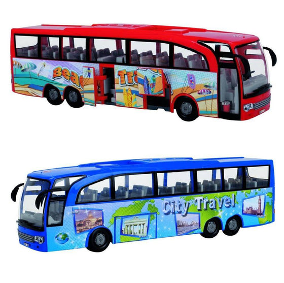 Coach Bus Blue / Red Asst - Little Whale
