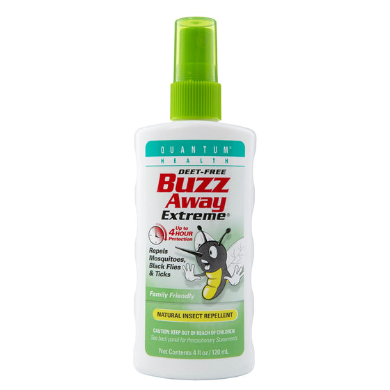 Buzz Away Pump Spray 4oz - Little Whale