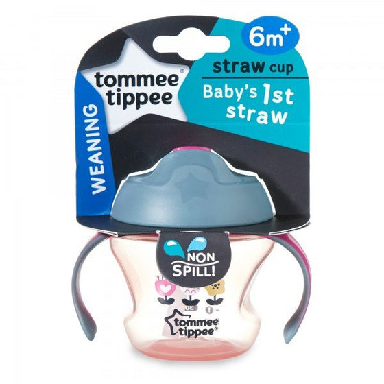 First Straw Cup (150ml) - Pink - Little Whale