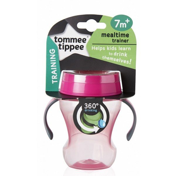 Meal Time Trainer 360 Cup Pink 230ml - Little Whale