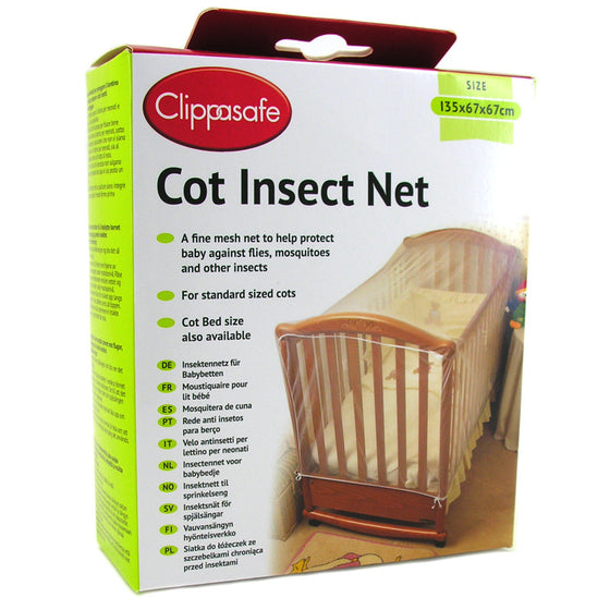 Cot Insect Net - Little Whale
