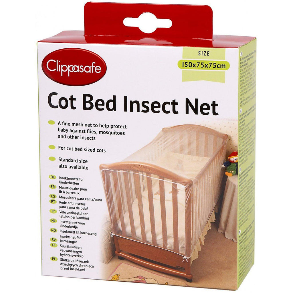 Cot Bed Insect Net - Little Whale