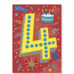 Age-Specific Birthday Cards: Have a Popping fun Birthday! - Little Whale