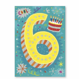 Age-Specific Birthday Cards: Happy Birthday to One Cool Kid! - Little Whale