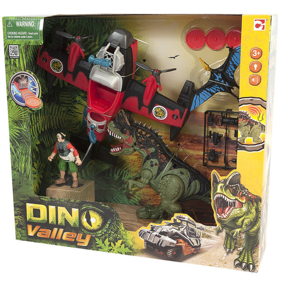 Dino Valley Dinostrikker Playset - Little Whale
