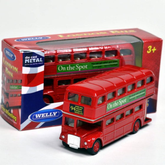 London Bus 3-inch - Little Whale