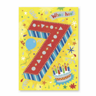 Age-Specific Birthday Cards: Hope Your Birthday is BURSTING with Fun! - Little Whale