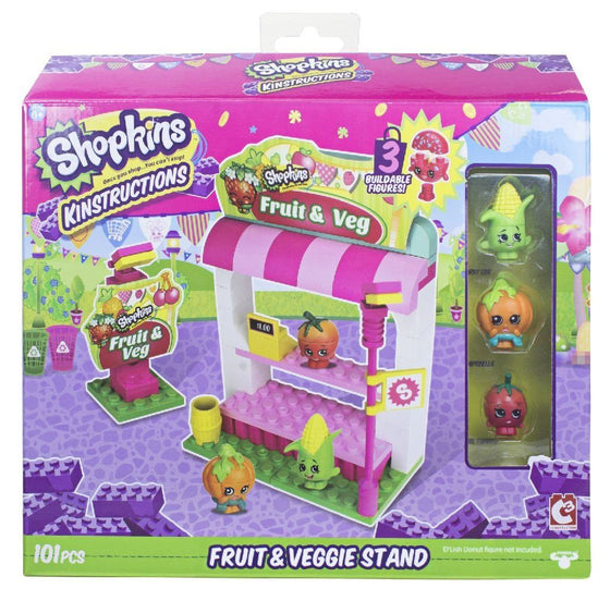 Kinstruction Fruit & Veggie Stand - Little Whale