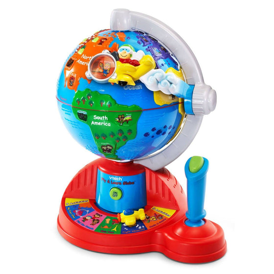 Fly and Learn Globe (12m+) - Little Whale