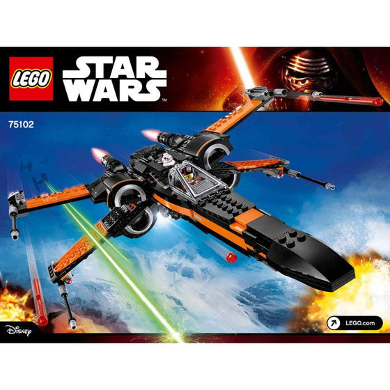 Poe's X-Wing Fighter - Little Whale