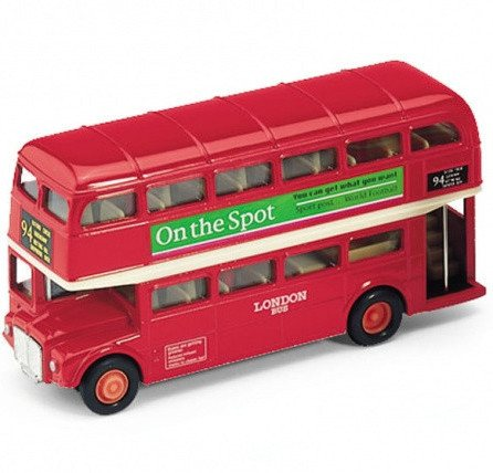 London Bus 5-inch - Little Whale