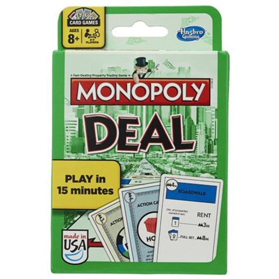 Monopoly Deal Card Game (Bilingual) - Little Whale