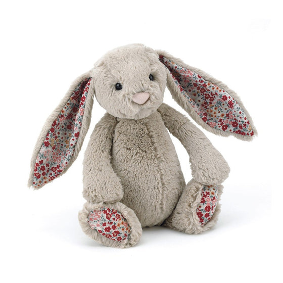 BLOSSOM BASHFUL BEIGE BUNNY MEDIUM - Little Whale