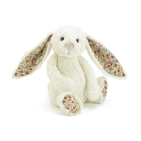 BLOSSOM BASHFUL CREAM BUNNY MEDIUM - Little Whale