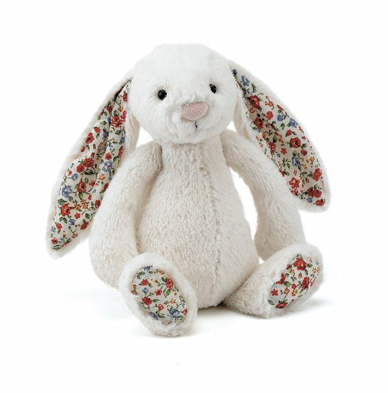 Blossom Bashful Cream Bunny Small - Little Whale