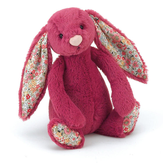 Blossom Bashful Rose Bunny Small - Little Whale