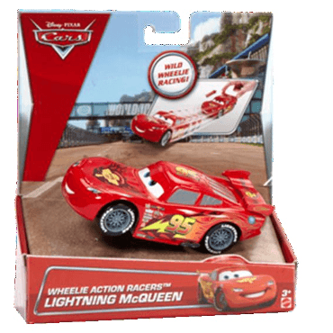Wheelie Action Racers Lightning McQueen Vehicle - Little Whale