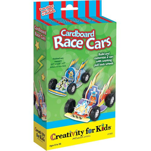 Cardboard Race Cars - Little Whale