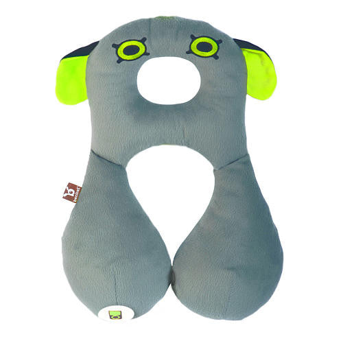 Travel Headrest 8+yrs - Monster - Little Whale