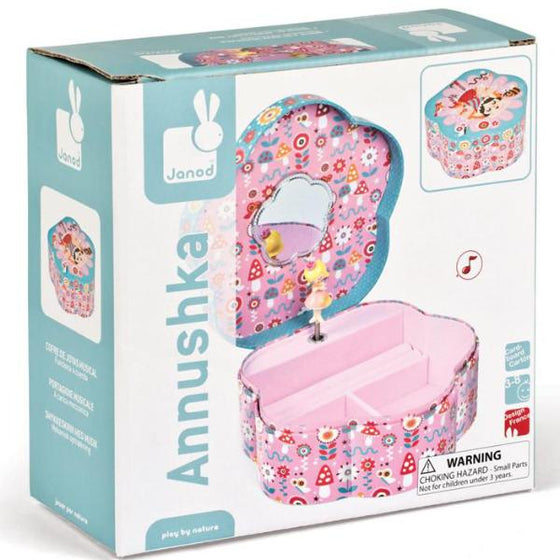 Jewellery Flower Musical Box - Little Whale
