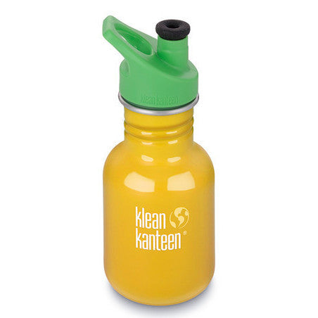 12oz Kid Kanteen Classic with Sport Cap 3.0 School Bus - Little Whale