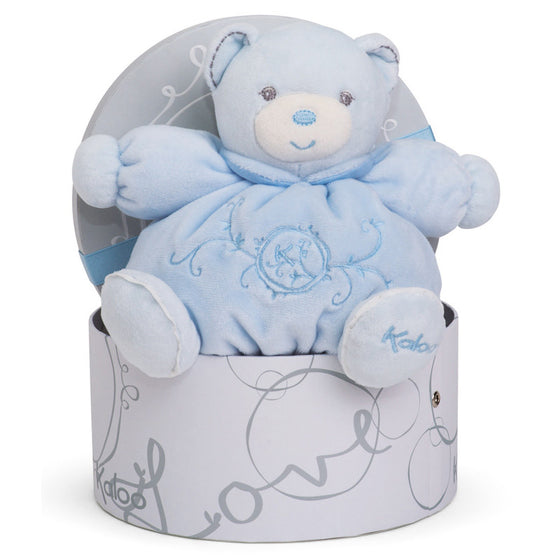 Chubby Bear Blue Small - Little Whale