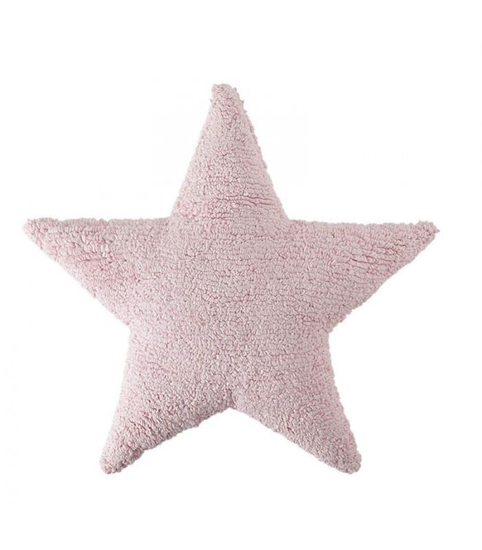 Cushion Star Pink - Little Whale