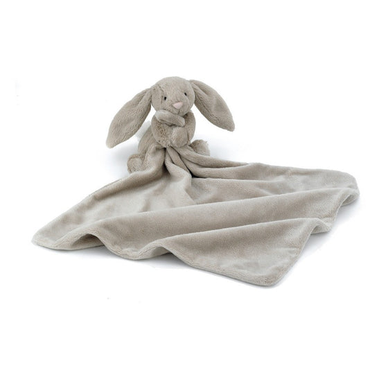 BASHFUL BEIGE BUNNY SOOTHER - Little Whale