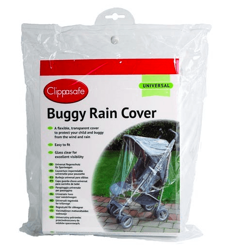 Universal Buggy Rain Cover - Little Whale