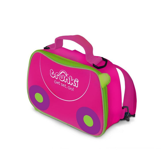 2 in 1 Lunch bag Backpack - Pink - Little Whale
