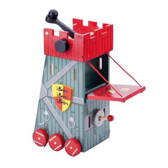 Siege Tower Red - Little Whale
